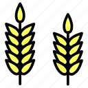 agriculture, crop, farm, grain, wheat icon