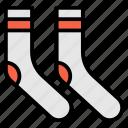 clothes, clothing, sock, socks, wool