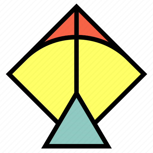 Flight, flying, kite, playing, toys icon - Download on Iconfinder
