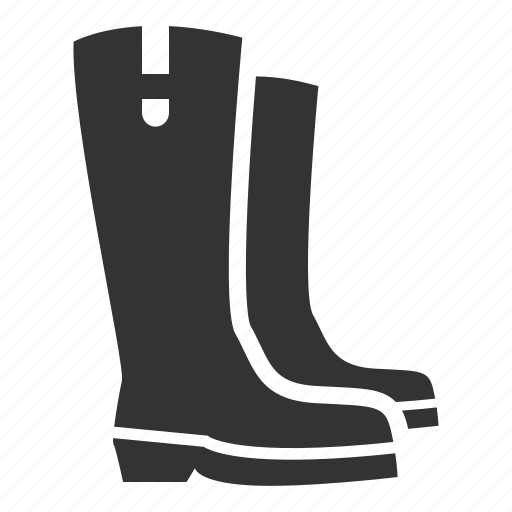 apparel, autumn, boots, fall, footwear, gardening, shoes icon