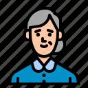 housekeeper, job, people, user, woman icon