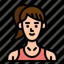 fitness, jobs, profession, trainee, woman