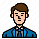 avatar, businessman, man, manager, user