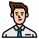 avatar, businessman, employee, people, salaryman
