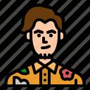 avatar, man, tourist, traveller, user icon