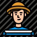 avatar, people, tourist, traveler, user icon