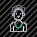 avatar, female, lady, mother, teacher icon