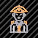 avatar, guard, male, man, policeman icon