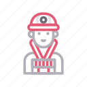 avatar, engineer, male, man, worker