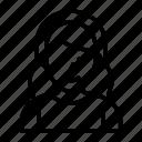 avatar, female, girl, lady, women icon