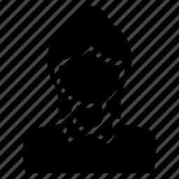 avatar, female, girl, person, user, woman icon