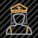 avatar, female, girl, officer, police
