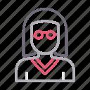 avatar, female, lady, teacher, women