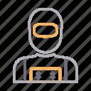 avatar, male, man, robber, theft