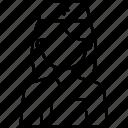 avatar, female, medical, nurse, nurse avatar, profile icon