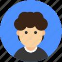 account, avatar, male, profile, user