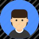 avatar, male, profile, user, account