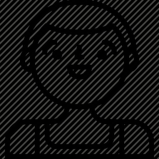 avatar, male, man, person icon