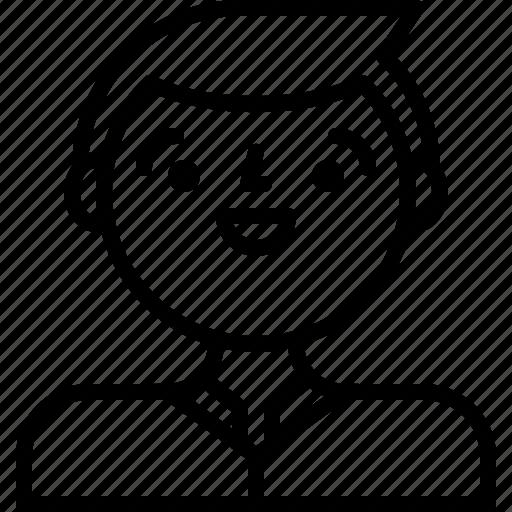 boy, male, man, user icon