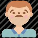 avatar, male, man, old icon