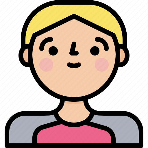 Boy, male, man, profile icon - Download on Iconfinder