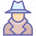 court, crime, criminal, detective, law, mafia, mafia spy thief, police, spy, theif icon