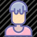 avatar, beautiful, boy, hair, man, model, style, user, wavy icon