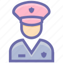 avatar, constable, man, officer, police, police officer, policeman, policemen, policewoman, woman icon