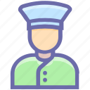 avatar, bellboy, conciege, concierge, hotel, male, man, waiter, wiater icon