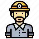 avatar, construction, man, occupation, profession, worker icon