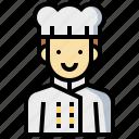 avatar, cook, human, man, occupation, profession icon