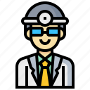 avatar, doctor, human, man, occupation, profession icon