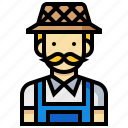 avatar, farmer, human, man, occupation, profession icon