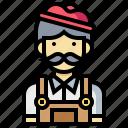 avatar, human, man, occupation, painter, profession icon