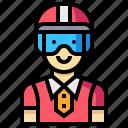 avatar, human, man, occupation, profession, racer icon