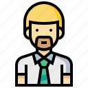 avatar, human, man, occupation, profession, teacher icon
