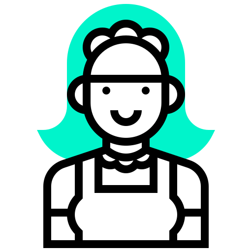 avatar, human, maid, occupation, profession, woman icon