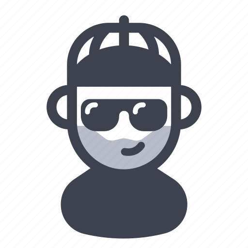 avatar, character, hat, rapper icon