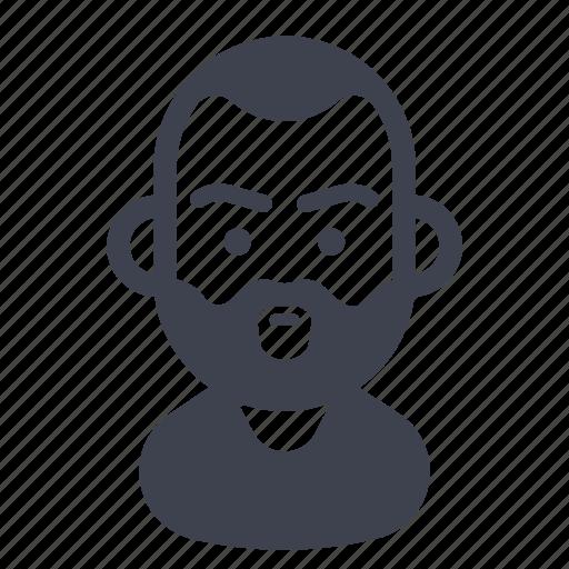 avatar, character, mustache, shagy icon