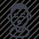 avatar, character, happy, man