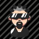 avatar, beard, eyewear, rapper