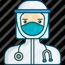 profile, doctor, medical, hospital, corona virus