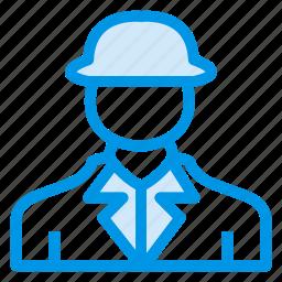 arhitecture, artitechtureman, boy, businessman, man, propertydealer, worker icon