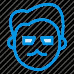 attitude, businessman, guy, man, person, serious, user icon