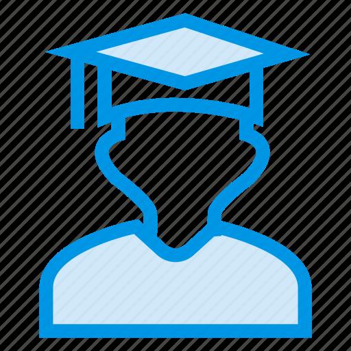 graduation, medal, scholarship, student, success, win, winner icon