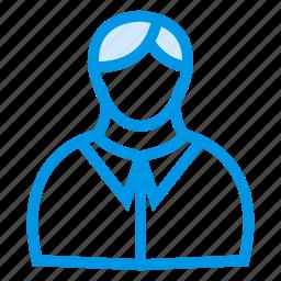 businessman, cashier, hero, male, man, person, user icon