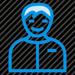 hero, male, man, presentation, seller, teacher, user icon