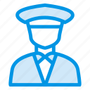business, cop, employee, man, policeman, security, securityguard icon
