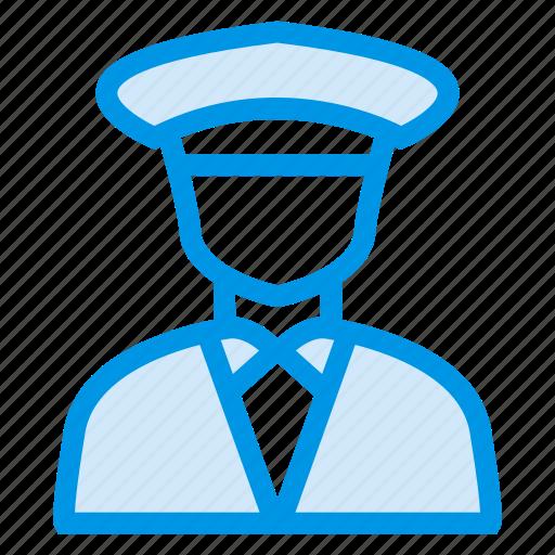 business, cop, employee, man, policeman, security, securityguard icon