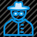 agent, criminal, ninja, pickpocket, profession, rober, thieve icon